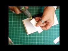 Miniature Box Book & Miniature Books Tutorial - jennings644 - YouTube