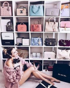 51 Bags Closet Ideas for Women