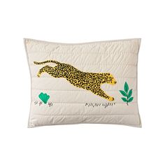Complete the look in your kids bedroom with our Applique Jungle Animal Sham. Designed exclusively for us by Bikini Sous la Pluie, it features a neutral base with a cheetah on the front. Little Boy Bedroom Ideas, Kids Bedroom, Wild Style, Jungle Animals, Crate And Barrel, Little Ones, Crates, Baby Kids, Bed Pillows