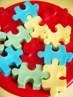 Jigsaw Puzzle Soap Set. Sorry for spamming you all with jigsaw puzzles btw