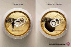 Que buena campaña para evitar alcohol al volante!#publicidad