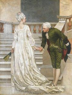 monsieurleprince:    Valentine Cameron Prinsep (1838 - 1904) - À bientot