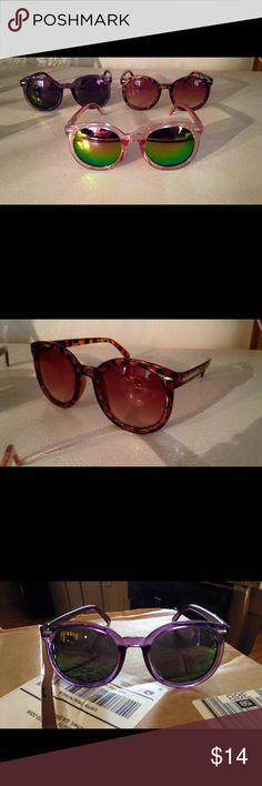 Sunglasses Women's cute sunglasses choose one pair Accessories Sunglasses