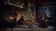 The whole family's gathered around the Christmas tree playing with a toy train, but one of the girls' minds is elsewhere. She imagines herself as the conductor of the train, now lifesize, while her father drives alongside the tracks in the Continental. During the Wish List Sales Event, Lincoln is offering $0 down and the first month free on the 2017 MKC.