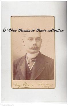 PARIS - DOCTEUR PROFESSEUR PAUL BERGER MEDECIN CHIRURGIEN - CDV PHOTO