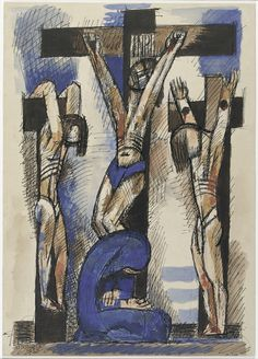 'Crucifixion' (1933) by Marcel Gromaire