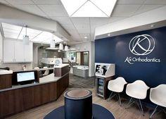 dental office decoration. kai orthodontics clinic in health care center design by sullivan dental office decoration n