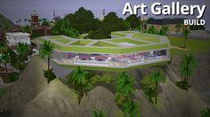 The Sim Supply - Aluna Headlands Art Gallery, Aluna Island #Sims3