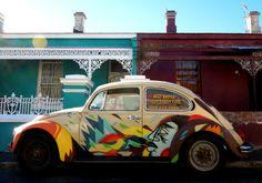 Street Art Par Miguel Lomott, Mr Slipperz - Le Cap (Afrique Du Sud)