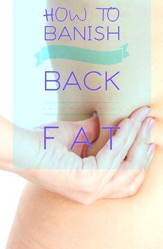 HOW TO BANISH BACK FAT ~ WOMEN'S DAILY MAGAZINE