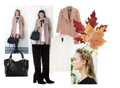 """""""#1"""" by aurora-ane ❤ liked on Polyvore featuring Rochas, Derek Lam, Anouki, Croft & Barrow, bag, blackboots and coat"""