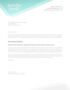 Free Cover Letter Template 1100020. Choose from over 100 free resume templates in Microsoft Word and iWork Pages. Fast and easy to use. Post a resume today! Best Cover Letter, Cover Letter Design, Cover Letter Example, Cover Letter Template, Letter Templates, Resume Template Examples, Resume Template Free, Free Resume, Templates Free