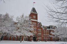University Hall at The Ohio State University - December 26, 2012