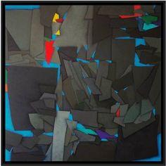 "Saatchi Art Artist Luciano de Liberato; Painting, ""terrae motus (earthquake)"" #art"