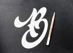 Dmitriy Tkachev is a Belarusian graphic designer based specializing in logo design and custom lettering.  More lettering inspiration via Behance
