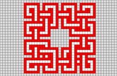 Celtic Knot Pixel Art from BrikBook.com #Celticknot #knots #decoration #patterns #pixel #pixelart #8bit Shop more designs at http://www.brikbook.com
