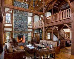 Beautiful exposed rustic wood interior for the barn