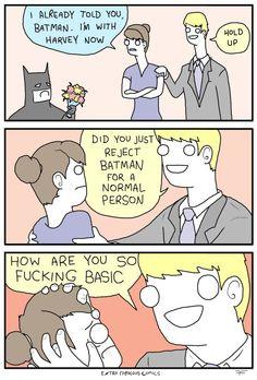 Batman vs Harvey