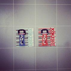 【付箋】関美穂子 こけし付箋50枚入り¥360/小さくてかわいいこけし付箋です。お手紙のアクセントにおすすめ。