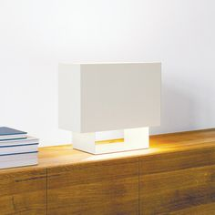 Seam One Lamp Signal White now featured on Fab. Light Table, Lamp Light, Starry String Lights, White Now, Interior Decorating, Interior Design, Floating Nightstand, Contemporary Design, Interior Architecture