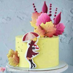 Patisserie Design, Beautiful Birthday Cakes, Cake Pictures, Fall Pumpkins, Cake Cookies, Amazing Cakes, Favorite Color, Cake Decorating, Autumn