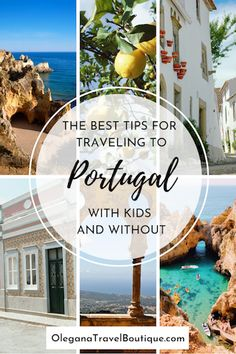 The best tips for traveling to Portugal with or without kids to make your honeymoon or vacation the experience of a lifetime and planning process a breeze! - Olegana Travel Boutique #Travel #portugal #honeymoon