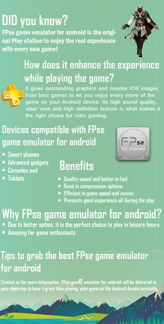 Tips to grab the best FPse game emulator for android http://fpsece.com