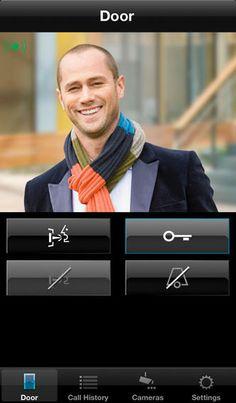 Jung Door Control Module app for iPhone - Somebody at the door
