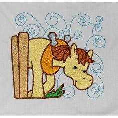 Cute horse embroidery design #embroidery #embroiderydesigns #embroiderypattern #machineembroidery #embroiderydownlaods #embroideryallsorts