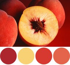 color palette inspiration :: summer peaches