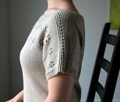 Ravelry: Castellane Pullover pattern by Megan Goodacre