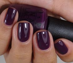OPI Norway 2014 collection, picked up this pretty purple for fall!