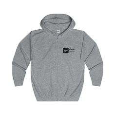 StJuste Design Full Zip Hoodie