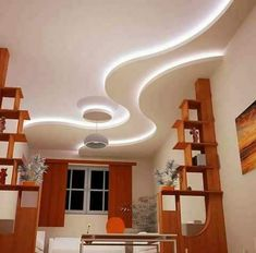 Awesome Unique Ideas: False Ceiling Design For Passage false ceiling bathroom decor.False Ceiling Design For Passage false ceiling kitchen white cabinets. Gypsum Ceiling Design, House Ceiling Design, Ceiling Design Living Room, Bedroom False Ceiling Design, Ceiling Decor, Living Room Designs, House Design, Ceiling Ideas, Ceiling Lights