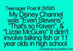 Teenager Posts haha so true kids television television show these days