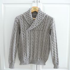 Ravelry: Casual cable pattern by Kyoko Nakayoshi