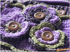 Crochet Flowers, Knitting, Tricot, Crocheted Flowers, Cast On Knitting, Stricken, Crocheting, Knits, Crochet Flower