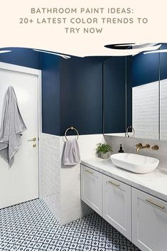 stunning small bathroom makeover ideas for you 3 > Fieltro.Net - - stunning small bathroom makeover ideas for you 3 > Fieltro. Blue Bathrooms Designs, Contemporary Bathroom Designs, Modern Bathroom Design, Bathroom Interior Design, Classic Bathroom, Contemporary Toilets, Bathroom Designs Images, Minimal Bathroom, Contemporary Design