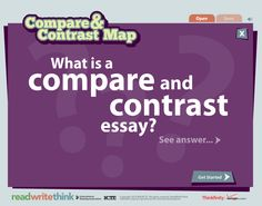 comparative essay directions