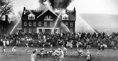 Fire Didn't Stop a Game, and 50 Years Later the Proof Still Fascinates