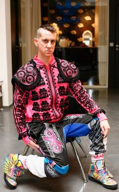 Jeremy Scott, creative director of Italian luxury fashion house, Moschino.