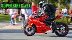 SUPERBIKES #21 - Motos esportivas acelerando! BMW S1000RR, Hornet cortando giro!!!