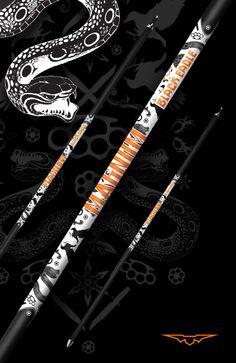 Black Eagle Arrows Magnum Indoor/3D shafts