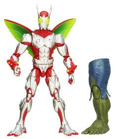 #transformer The Amazing Spider-Man 2 Marvel Legends Infinite Series Deadliest Foes Ultimate Beetle (Green Goblin BAF)