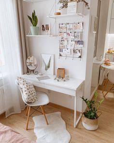 Room Design Bedroom, Room Ideas Bedroom, Bedroom Decor, Men Bedroom, Bedroom Inspo, Study Room Decor, Cute Room Decor, Teen Study Room, Home Office Design