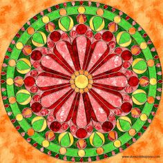 Don't Eat the Paste: mandalas