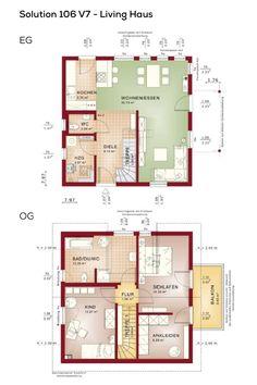 Grundriss einfamilienhaus mit galerie 5 zimmer for Grundriss einfamilienhaus 2 vollgeschosse