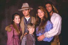 Dr. Quinn Medicine Woman - (1993-1998). [Western] Starring: Jane Seymour, Joe Lando, Chad Allen, Erika Flores, Jessica Bowman, Shawn Toovey, Diane Ladd and Jane Wyman.