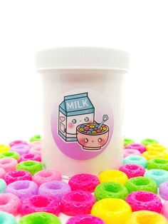 ♥Froot Loop Cereal♥ This is a very thick & glossy slime with froot loop scent that smells like the real cereal and topped with froot loops! Loop Cereal Slime Loop Charms Package ♥♥ALL SLIMES ARE *All digital art & images subject to copyright* Pink Fluffy Slime, Best Fluffy Slime Recipe, Perfect Slime, Slime Containers, Pretty Slime, Slimy Slime, Glossy Slime, Froot Loops, Slime And Squishy