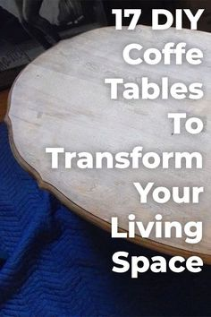 Looking to add a healthy dose of personality to your living space? These 17 DIY coffee table ideas will inspire & help you to make a coffee table yourself! Build A Coffee Table, Cart Coffee Table, Rustic Coffee Tables, Rental Home Decor, Diy Home Decor, Furniture Makeover, Diy Furniture, Unique Furniture, Furniture Design